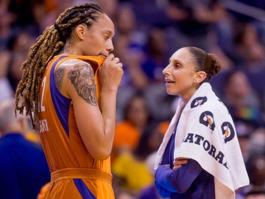 WNBA: Phoenix Mercury - Minnesota Lynx