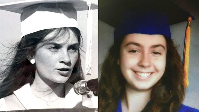 Vicki Yeager, and her daughter, Kate Volpe were both named the valedictorian of their graduating classes.