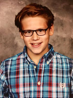 Kerrigen Ellenberger, 11, of Crestline, is undergoing counseling sessions after an alleged assault this spring at school, his mother says.
