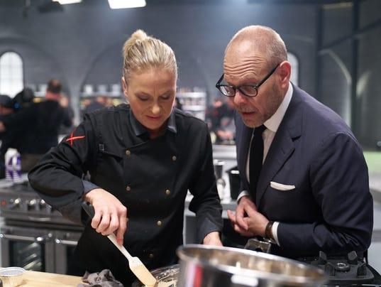 Chef Jeanie Roland Iron Chef Gauntlet