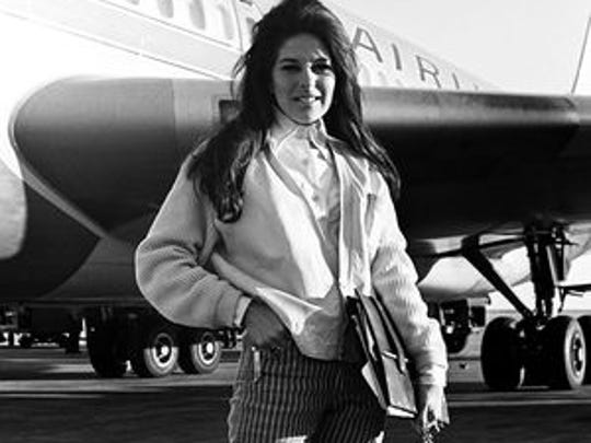 Bobbie Gentry arrives for the CMA Music Awards in 1967.