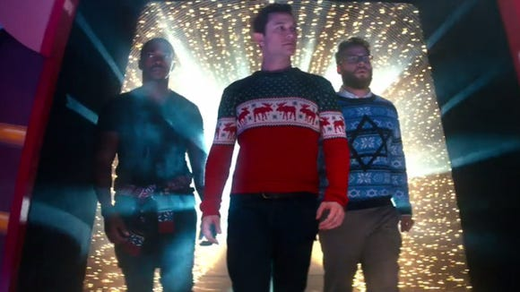 the night before - The Night Before Christmas Trailer