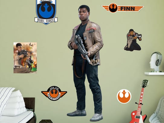 Finn wall decal from the Fathead 'Star Wars: The Force