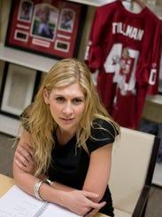 Marie Tillman helps oversee the Pat Tillman Foundation,