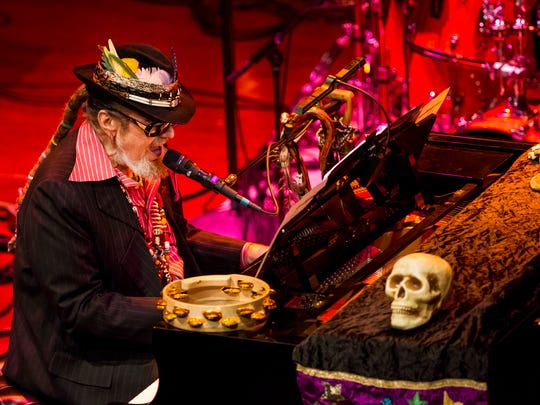 Dr. John performs at the World Cafe Live at the Queen in Wilmington in 2015.