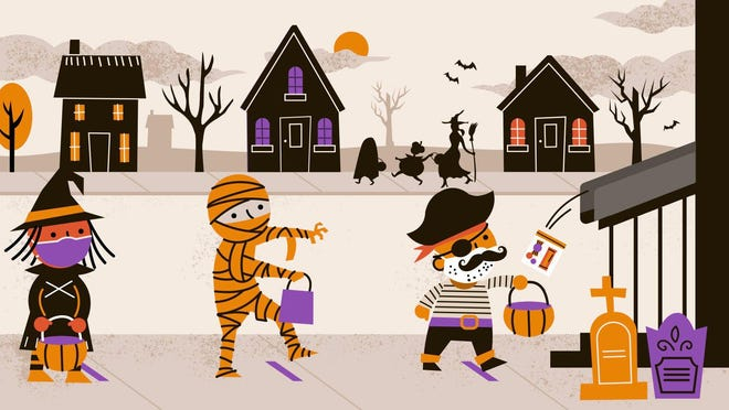 Don't cancel Halloween because of the pandemic. Keep your little ghosts happy, even without traditional trick-or-treating.
