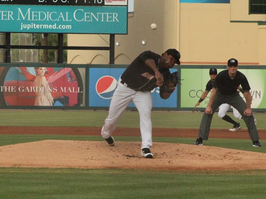Jupiter Hammerheads pitcher Jorge Guzman will be among players making the trip to this year's All-Star Game.