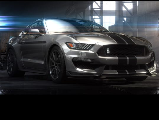 Ford is showing off its hot Shelby GT350 Mustang (Photo: Ford)