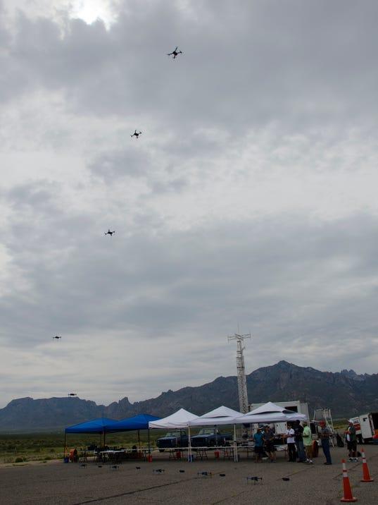 Drones at White Sands Missile Range