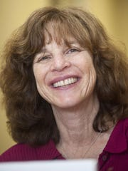 A 2012 photo of state Sen. Sally Fox, D-Chittenden, who died in 2014.
