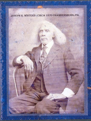 """Joseph Winters, a tall man, claimed to have Native American heritage and took the nickname """"Indian Dick."""""""