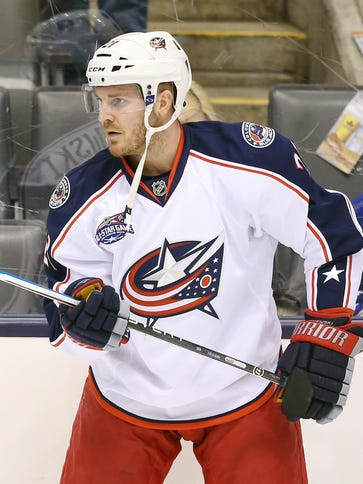 The Columbus Blue Jackets traded defenseman James Wisniewski