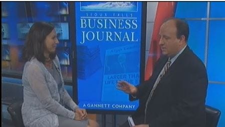 The Sept. 16 Sioux Falls Business Journal report on KSFY-TV.