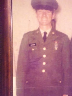 A family photograph of Staff Sgt. Curtis Patton of Eastville, Va., who died in the Vietnam War 50 years ago.