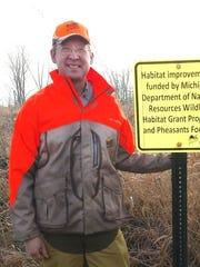 Bill Vander Zouwen, regional representative for Pheasants