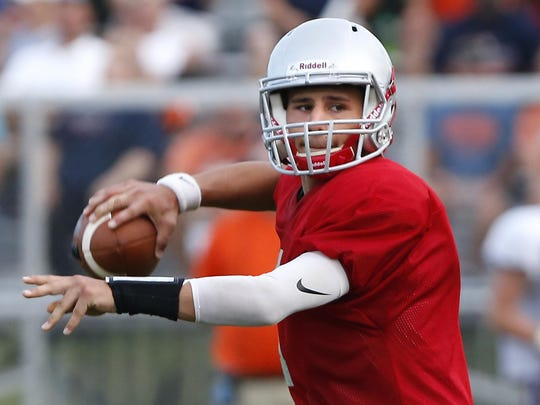 Mikey Kidwell is the most prolific passer in West Lafayette football history.