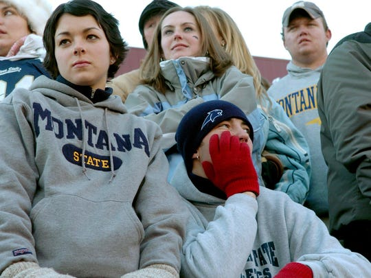 Sometimes it's not easy being blue and gold: Montana