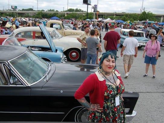 Tina Marabito of Wilmington's Poppycock Tattoo will
