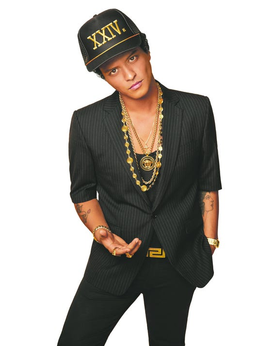 Exclusive Bruno Mars image