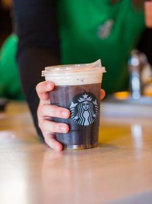 Starbucks' new strawless lid.