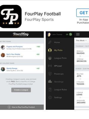 FourPlay football is a new fantasy football app