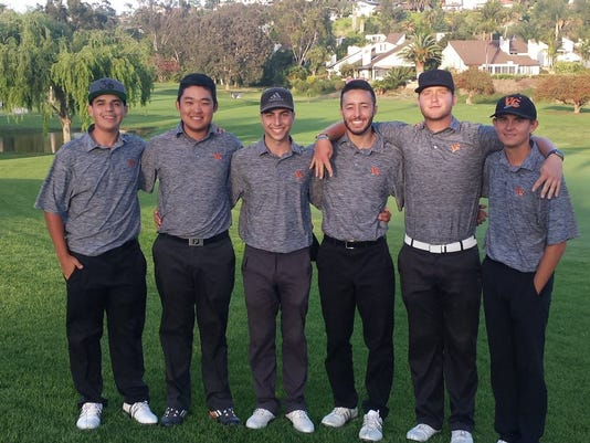 Ventura College men's golf
