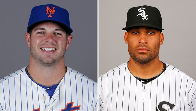 Kevin Plawecki (left) and Micah Johnson (right) were selected to the Futures Game, a showcase of MLB's top prospects.