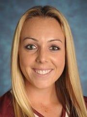 New Mexico State freshman Kelsey Horton.