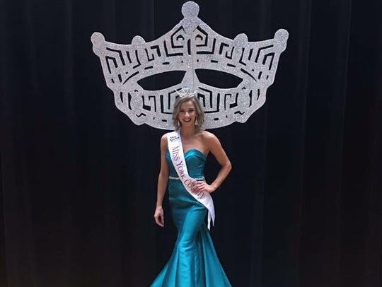Jennah Motter of Hanover was crowned Miss York County