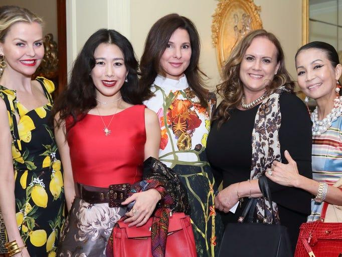 Barbara Regna; guest ; Christine Implicitio; Jill Jackson;