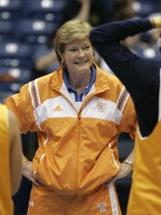In this March 24, 2007 file photo, Tennessee coach