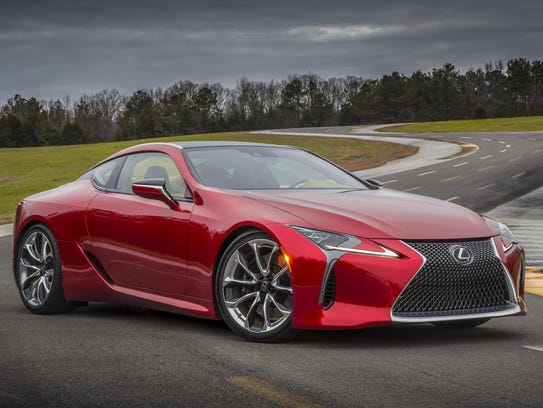Powerful and fun to drive, the 2018 Lexus LC500 and