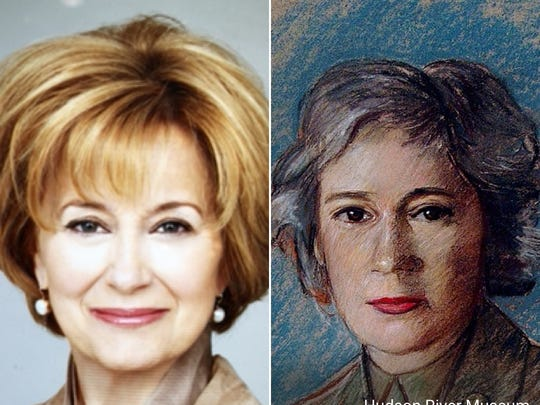 "Jane Pauley matched with ""Sgt. Lois Wilson."""
