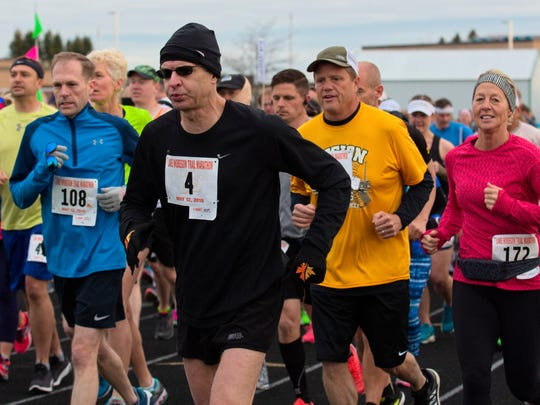 Runners get started Saturday morning at the 11th annual