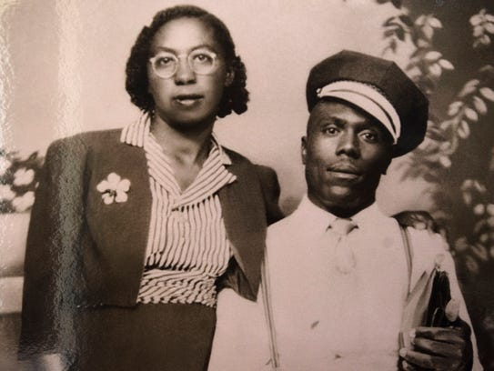 Elmore Bolling and his wife, Bertha Mae Bowden Bolling,