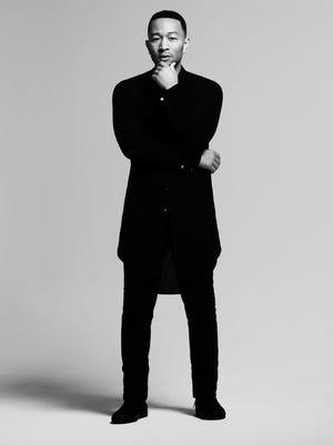 R&B/pop singer John Legend, 37.