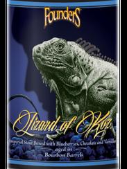 Lizard of Koz (10.5% ABV) is a bourbon-barrel aged