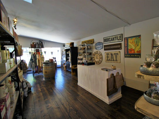 Restaurant customers can also browse the Mercantile's