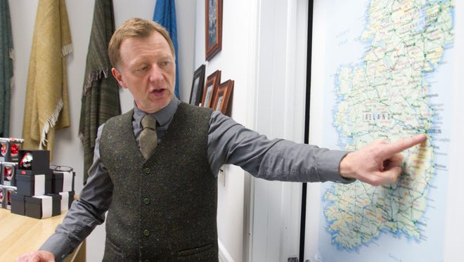Stuart Marley, owner of Real Irish, recounts a recent tour of Ireland he organized through his downtown Brighton store, which culminated in several days in Dublin.