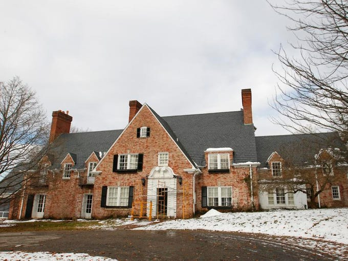 A front views of the Drumanard Estate property in Louisville,