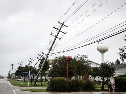 Hurricane Matthew: Myrtle Beach