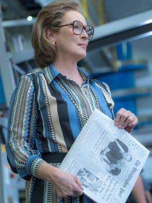 "Meryl Streep stars as Kay Graham in ""The Post."""