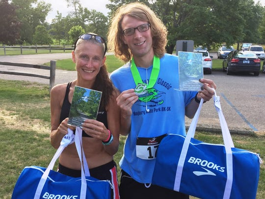 The Northville Road Runner Classic 5K winners included Amy Masternak (Plymouth) and Zachary Ellsworth (Brighton).