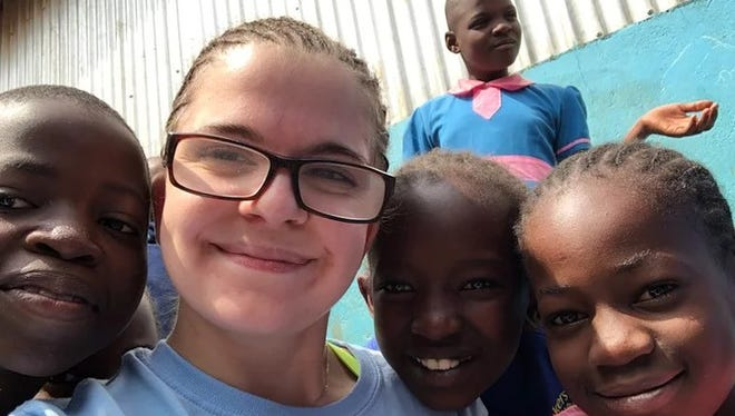 Kelly Graffin, an 18-year-old senior at York County Day, volunteered to teach at one of the worst slums in the world in Kenya. It changed her life.