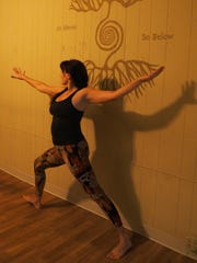 Lucy Mathers leads a class at Twisted Warrior in Fond