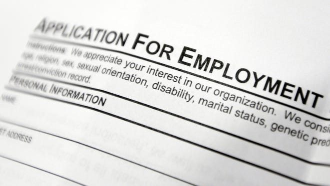The state House of Representatives approved a bill to eliminate a question about a job applicant's criminal history.