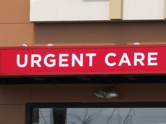 #stockphoto Outdoor urgent care sign.