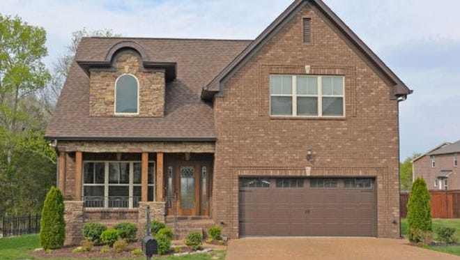 This house, at 418 Golden Grove in Mount Juliet, was built in 2013 and has 2,255 square feet.