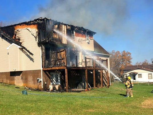 Fire on Cold Springs Road