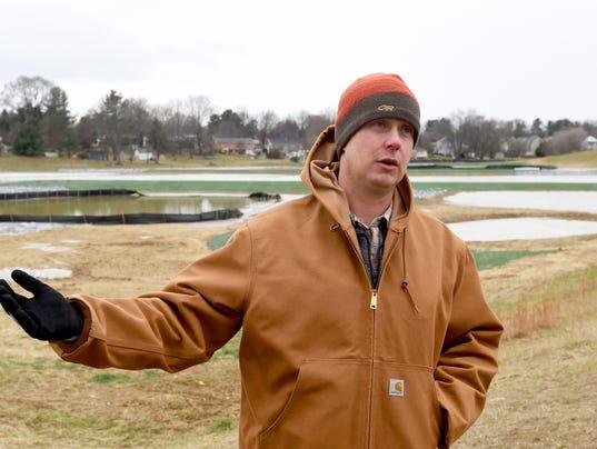 Jefferson Park constructed wetland